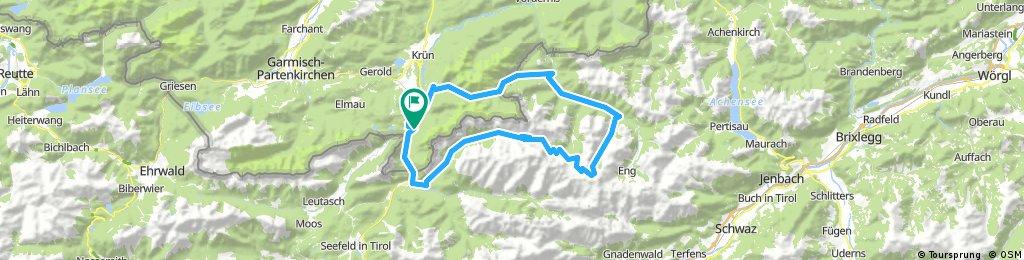 Große Karwendelrunde, Mittenwald, Karwedelhaus, Falkenhütte und Vereiner Alm