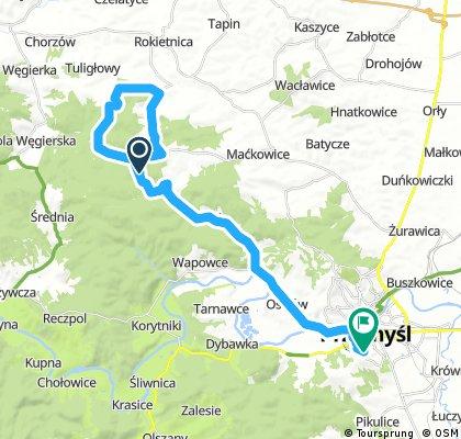bike tour through Przemyśl