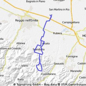 Prato di Correggio - Giro del Tre Croci