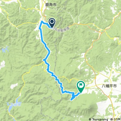Yuze Hotel to Hachimantai Royal Hotel (Kazuno/Yuze Onsen to Hachimantai)