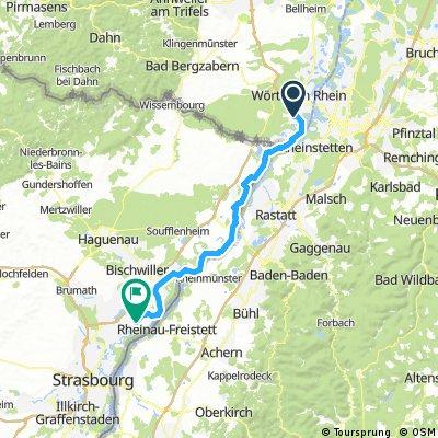 Hagenbach nach Kilstett