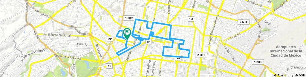 bike tour through Ciudad de México