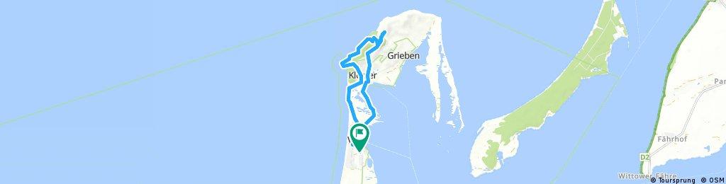 Eine kleine aber feine Fahrradtour auf der Insel Hiddensee