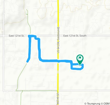 Brief bike tour through Bixby