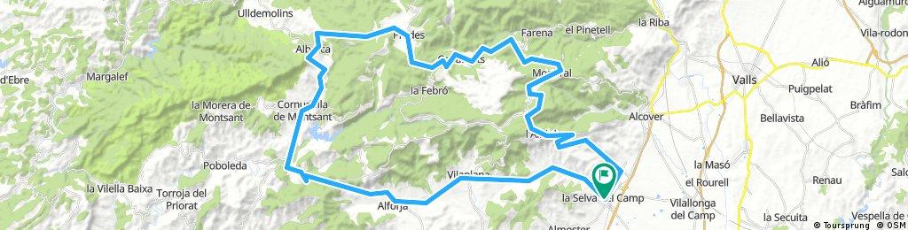 albiol Cormudella 83 km 1600