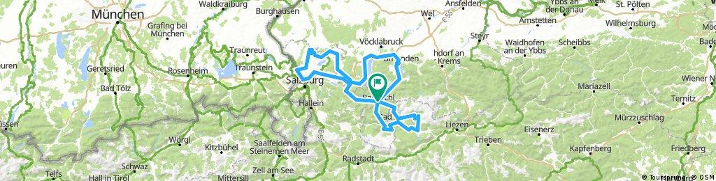 Salzkammergut Radweg R2 Variante 1