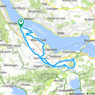 900hm / 45km / 3 hourroute
