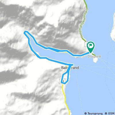 NOR 051: Dragsvik - Balestrand - Dragsvik