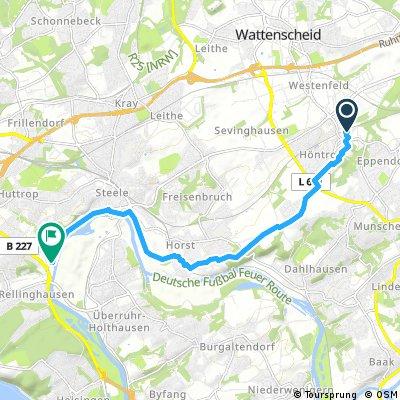 Radrunde von Bochum nach Essen
