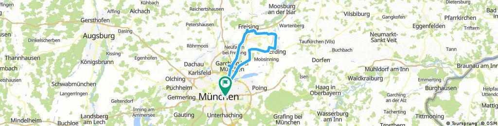 München - Garching - Freising - Erding