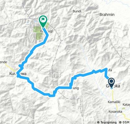 Goroka- Mt. Wilhelm (Tour of Paradise stage 3)