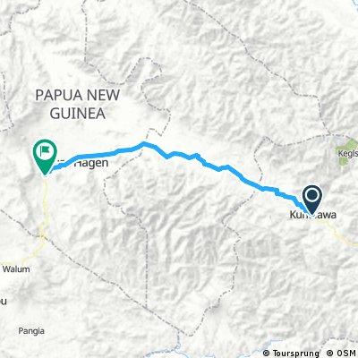 Kundiawa- Togoba (Tour of Paradise stage 4)