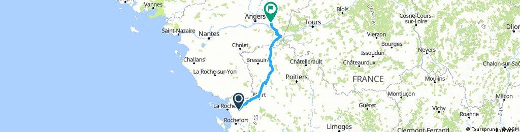 La Rochelle - Beaufort en Vallée
