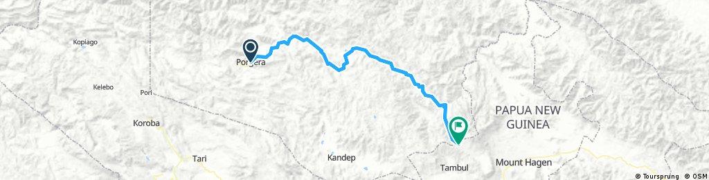 Porgera- Mount Hagen (Tour of Paradise stage 5)