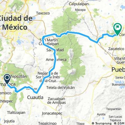 Cuernavaca-Tlaxcala