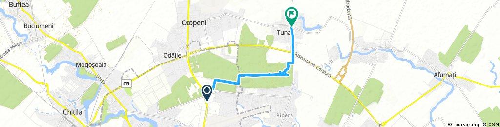Brief ride through Bucharest