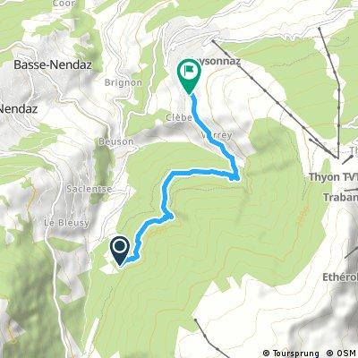 Wanderung in Valais vom 4. Juni, 14:34