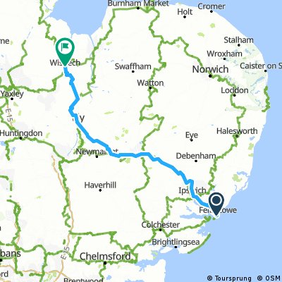 Montbeliard to Penrith Day 10