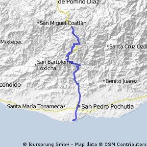 2010-03-03 San José del Pacifico to Puerto Angel