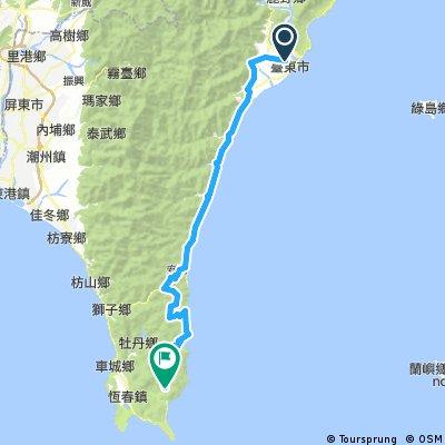 Taiwan Southern Ride Day 5