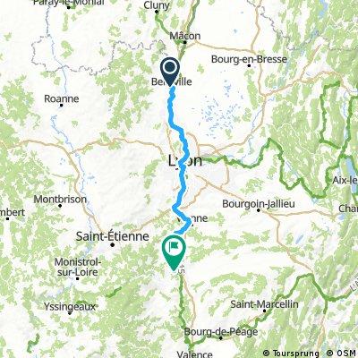 Etappe 7 (über Lyon)