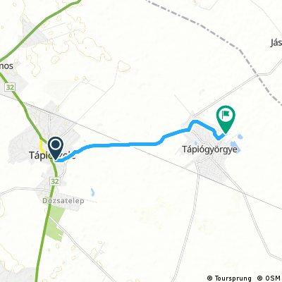 Quick bike tour through Tápiógyörgye