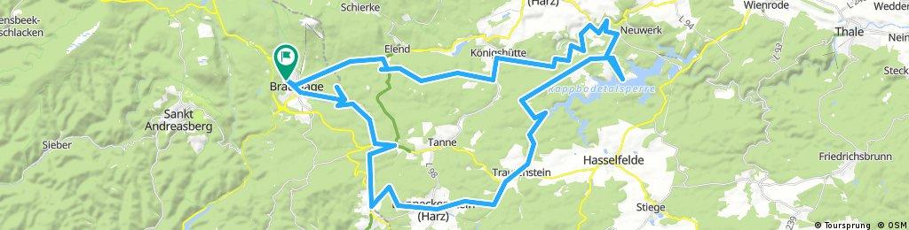 Mountainbike-Runde durch den Harz 2