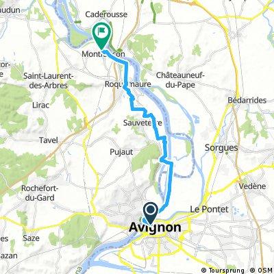 Avignon zurück