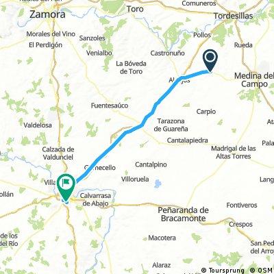 ETAPE 16 SALAMANCA 72 KMS