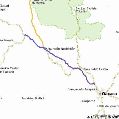 2010-02-21 San Juan de Teposculula to Oaxaca