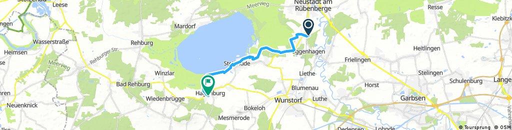Neustadt bis Hagenburg