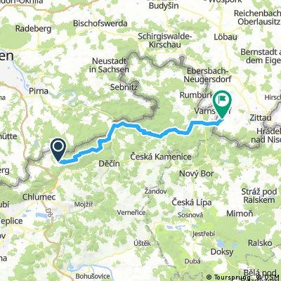 Tisa/Elbsandsteingebirge - Großschönau/Oberlausitz