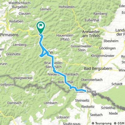 Hinterweidenthal - Weißenburg