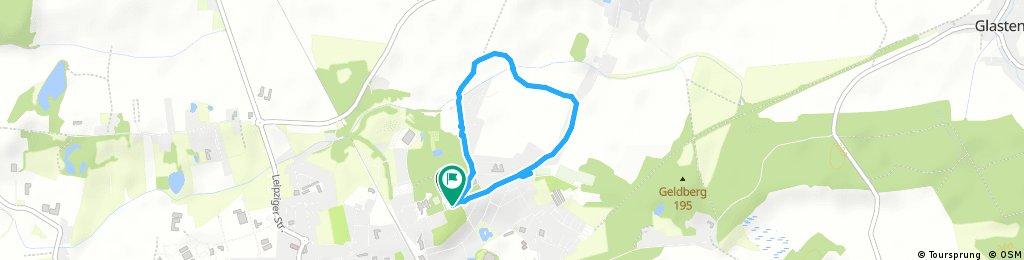 Schnelle Radrunde durch Bad Lausick