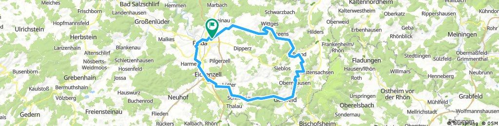 Fulda-Wasserkuppe-Fulda