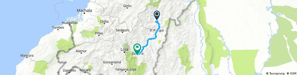 Long ride through Zamora