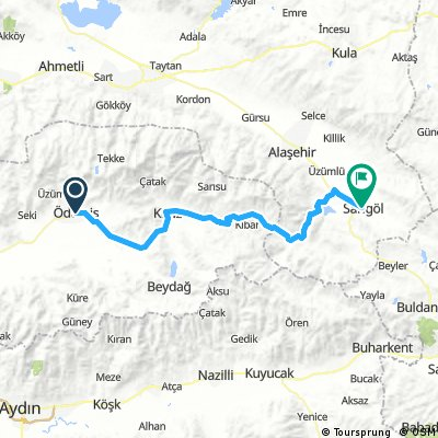 Turcja Ödemiş - Sarıgöl Day 2