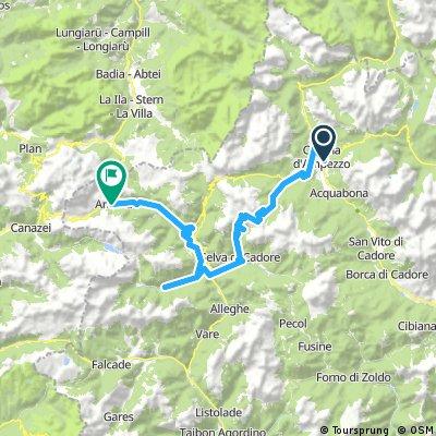 Day 12 Cortina to Arabba