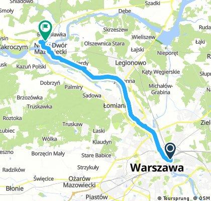 Warszawa Stadion - Twierdza Modlin
