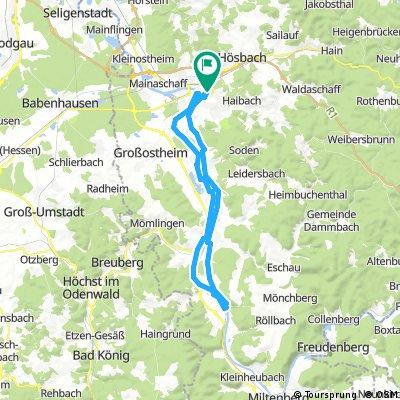 Lange Ausfahrt vom 8. Juni, 14:00 nach Klingenberg