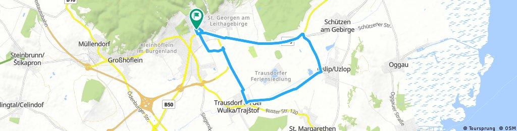 Eisenstadt-Schützen-Oslip-Trausdorf-Eisenstadt