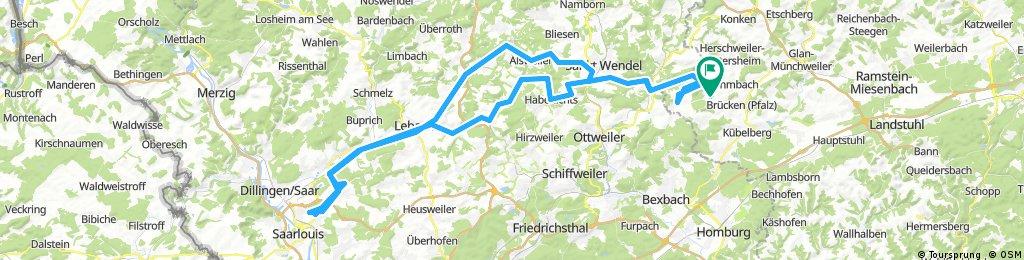 Werschweiler St.Wendel Tholey Saarlouis