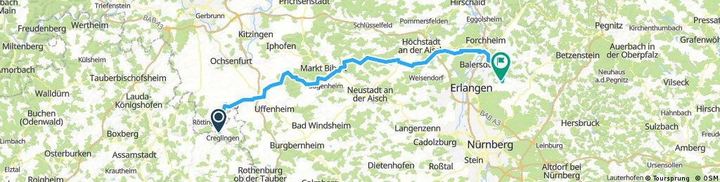 Creglingen-Neunkirchen 2, 119km, Crossrad