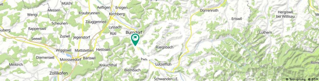 Radrunde durch Oberburg