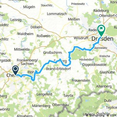 Chemnitz - Dresden (D4)