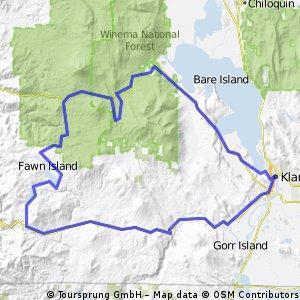 Mountain Lakes Challenge ab Klamath Falls
