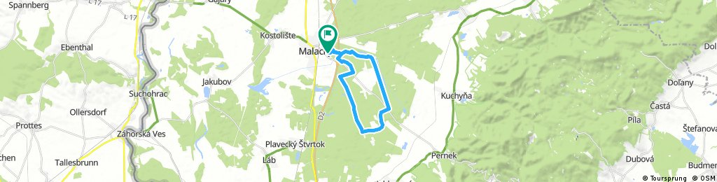 ride through Malacky