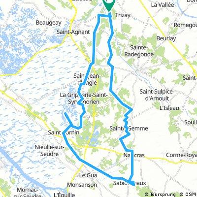 Route D St. Sornin en Sablonceaux