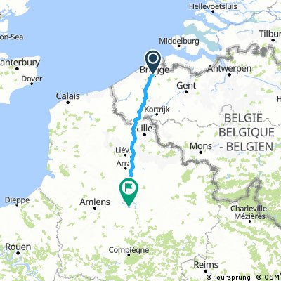 Brugge - Chessy Marne La Vallée