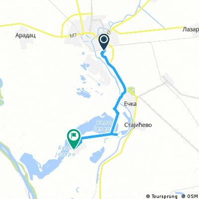 Quick ride through Stajicevo